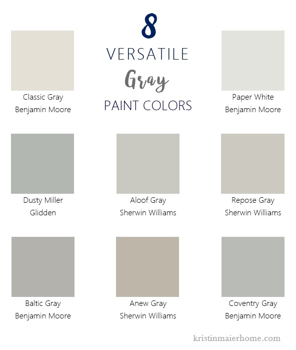 You Ll Find Gray Paint With Green Blue Or Purple Undertones For Example And Each One Will Change The Look Of E Completely Transform What