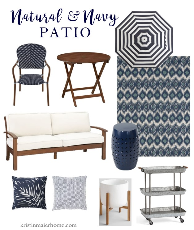 French Cafe Dining Chair Gany Bistro Table Sunbrella Cabana Stripe Umbrella Outdoor Sofa Dark Blue Iron Side Ikat Rug Palm